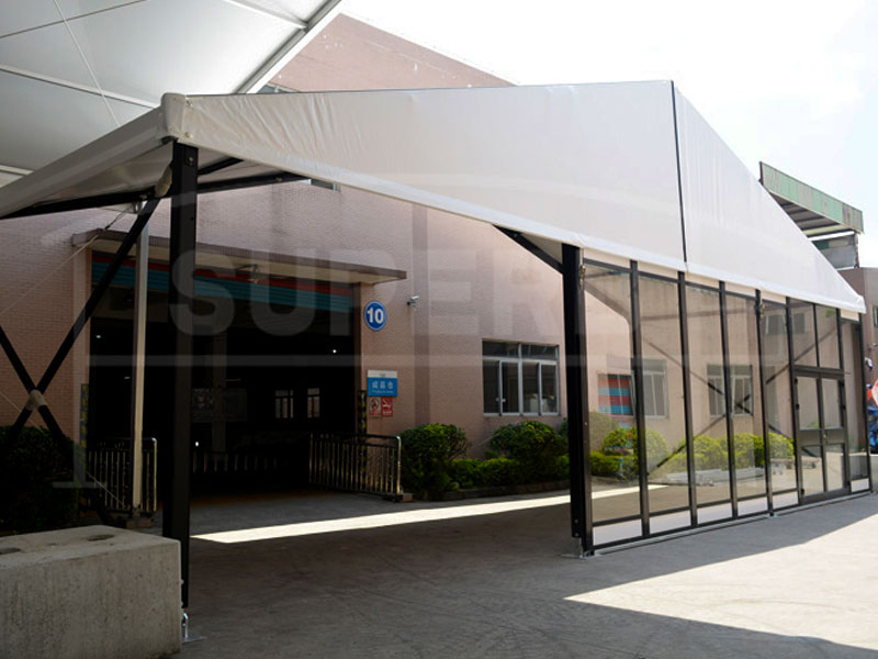 Transparent Exhibition Tents
