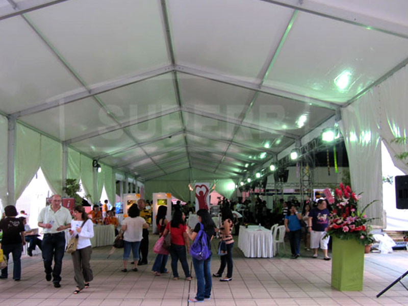 Large Exhibition Marquee